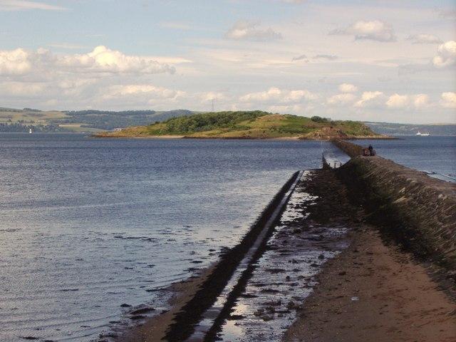 Cramond Island and causeway
