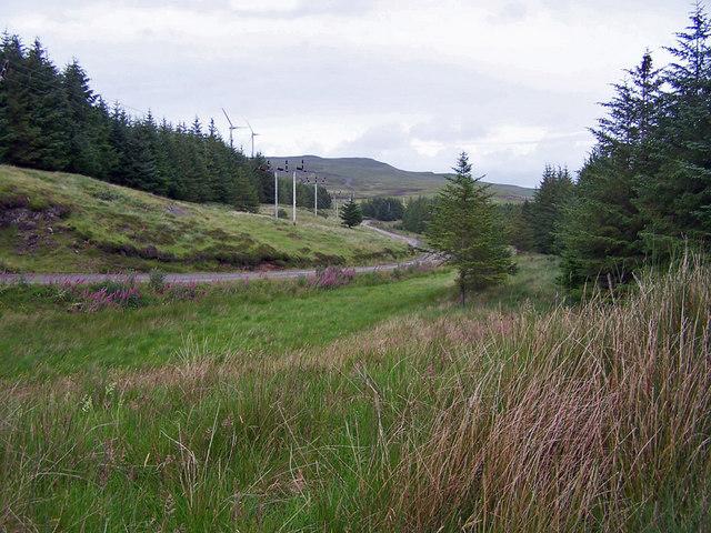 Track to Glen Vic Askill