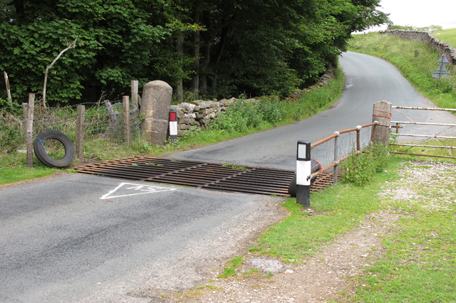 Cattle grid near Hare Appletree