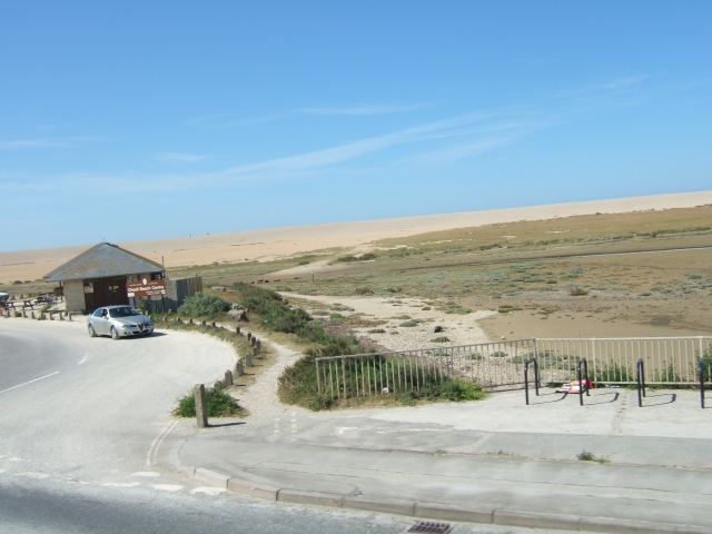 Chesil Beach Centre and car park