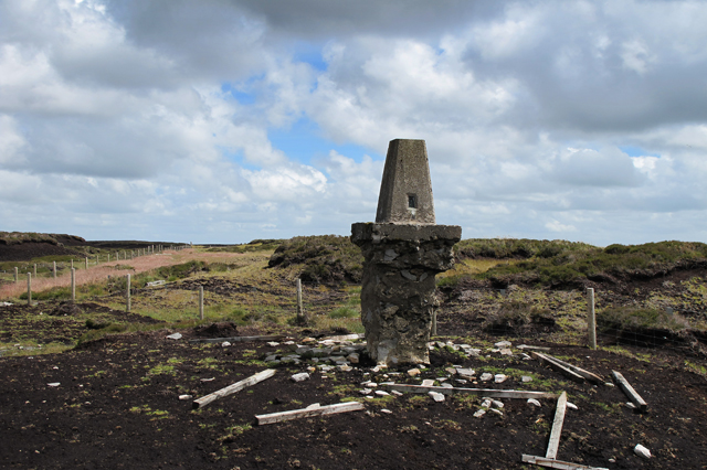 Hawthornthwaite Fell Trig Pillar