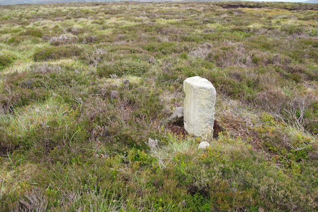 Boundary Stone on Hawthornthwaite Fell