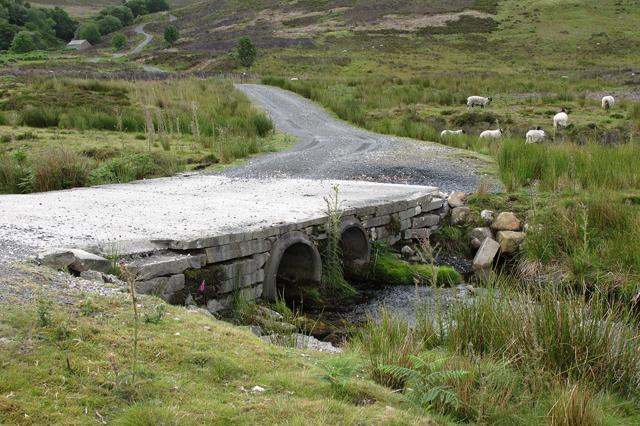 Bridge over Black Clough