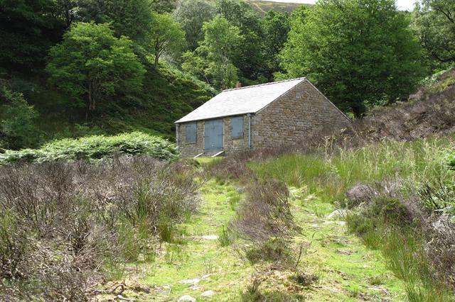 Shooting Lodge in Black Clough