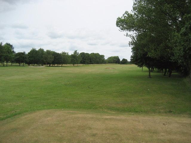 Eighteenth Fairway Stressholme Golf Course