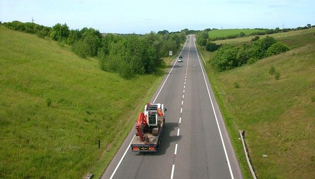 The A590 Dalton bypass