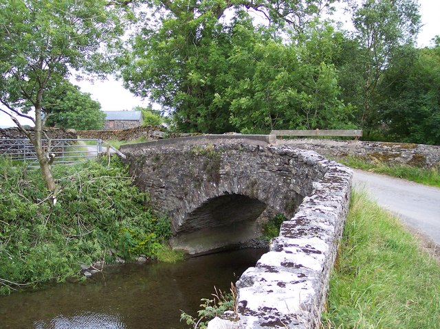 Bridge over Longdale Beck at Longdale