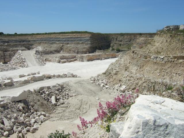 Quarry south of Easton