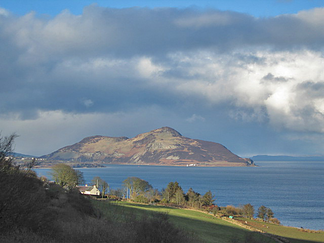 Holy Isle View, Arran