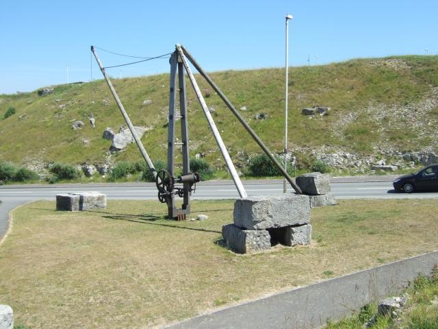 Preserved crane, Portland