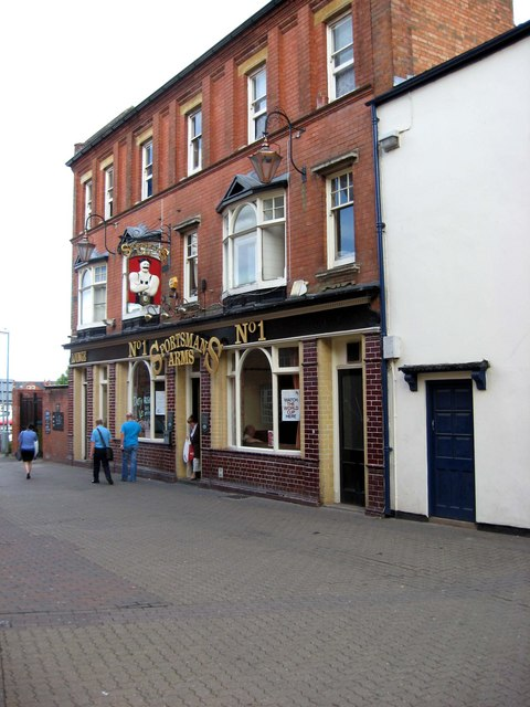 Sportsmans Arms (1), Peakman Street