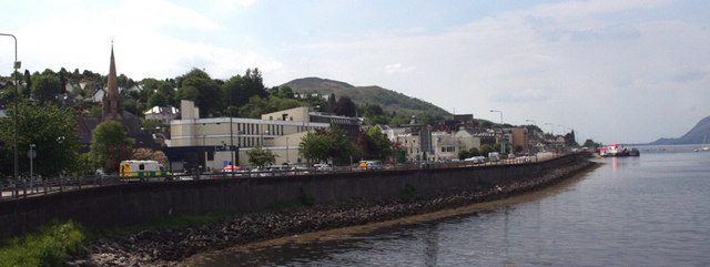 Fort William sea wall