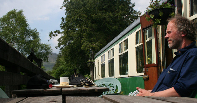 Glenfinnan station tea room