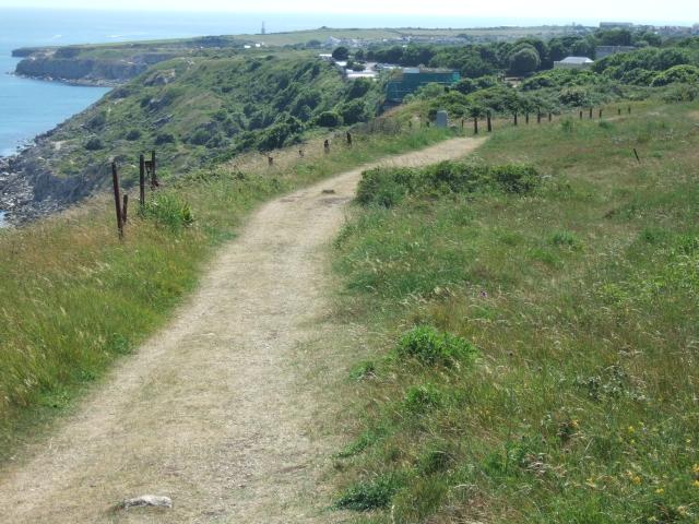 South West Coast Path near Grove