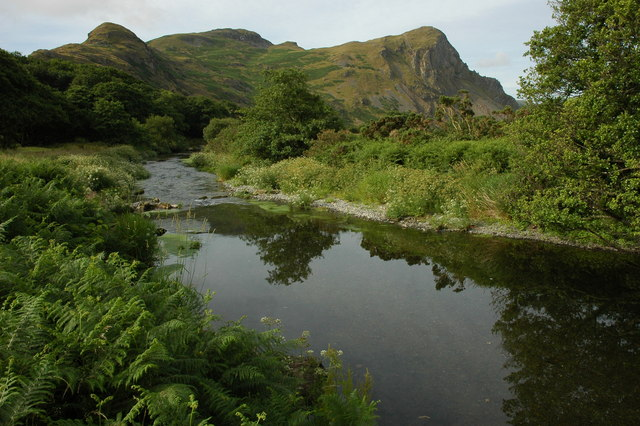 Afon Dysynni and Birds' Rock