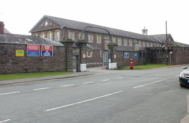 Territorial Army Centre, Newport