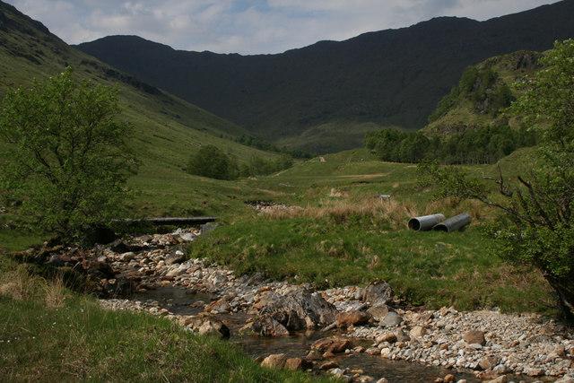Coire Thollaidh, upper Glen Finnan
