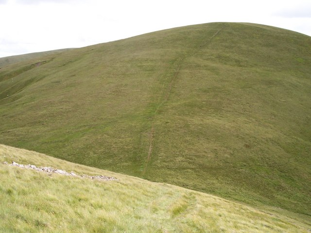 Path up Bush Howe from Wind Scarth