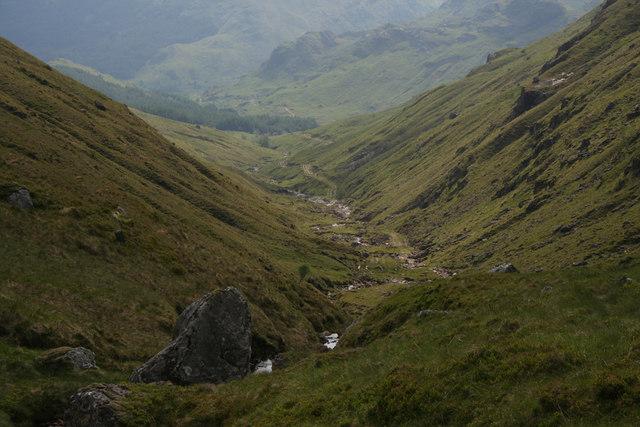 Hill pass between Glenfinnan and Arkaig