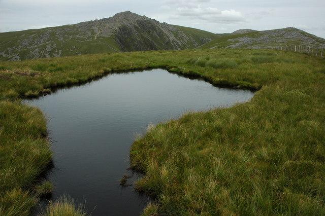 Pool on Craig Cwm Amarch