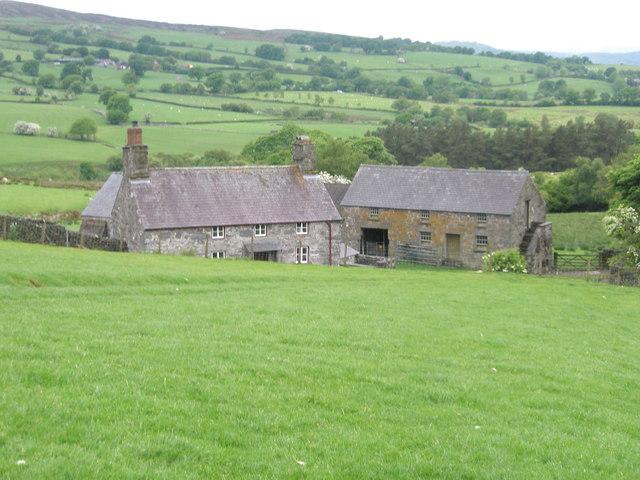 Farm buildings at Gwernouau
