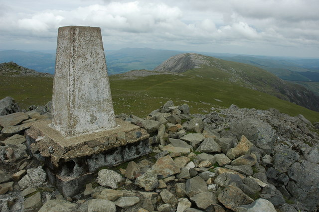 Trig point on Cadair Idris