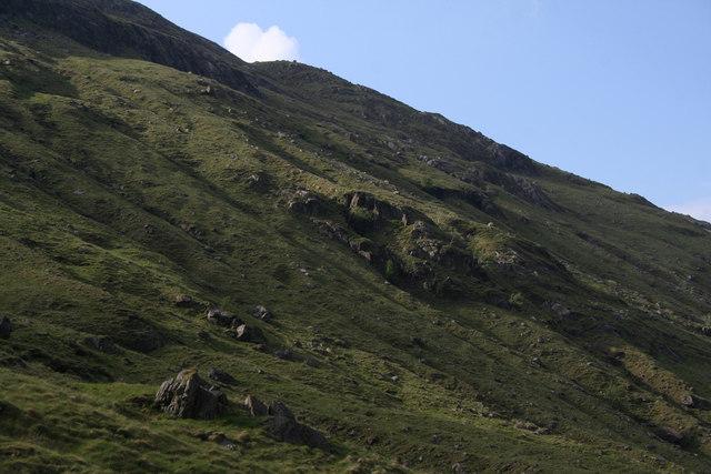 Glen Cuirnean flanks