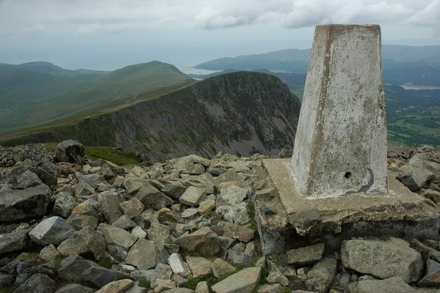 View west from the trig point, Cadair Idris