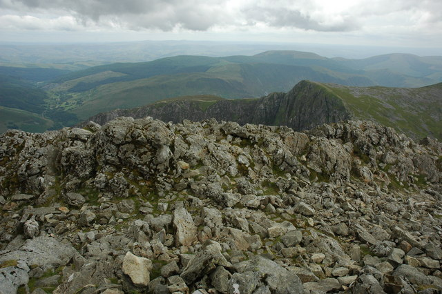 View south from Cadair Idris