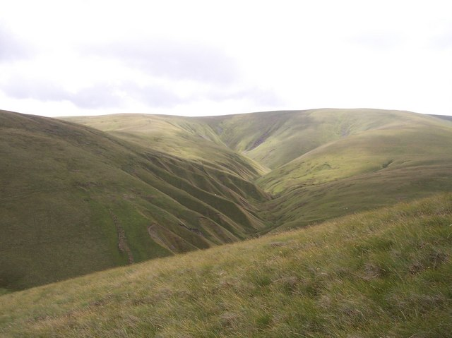 Great Ulgill Beck from Uldale Head