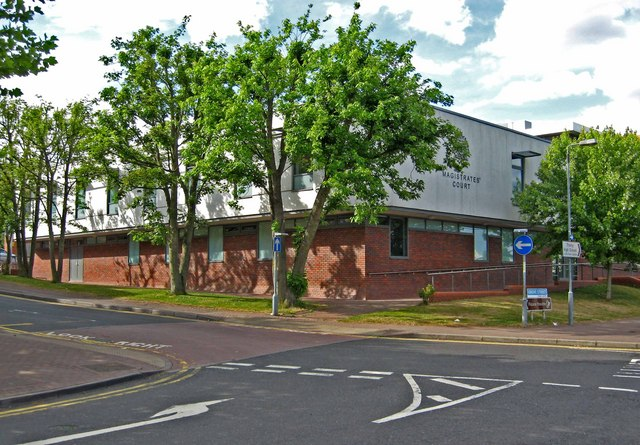 Redditch Magistrates' Court, Grove Street