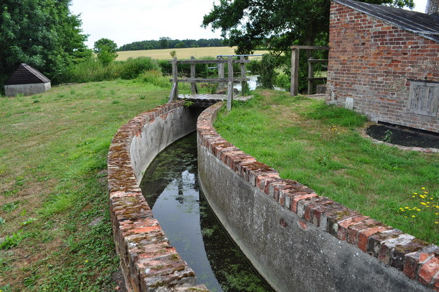 Channel to the Watermill/pump