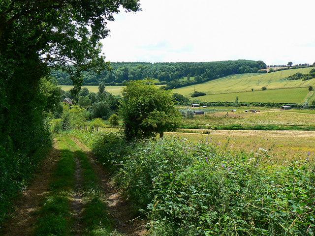 The bridleway to Preston