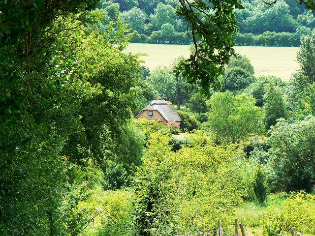 Down the bridleway to Preston