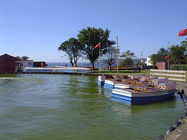 Onchan Park Boating Lake