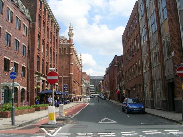 St Paul's Street - viewed from Queen Street