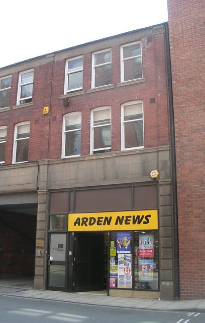 Arden News - St Paul's Street
