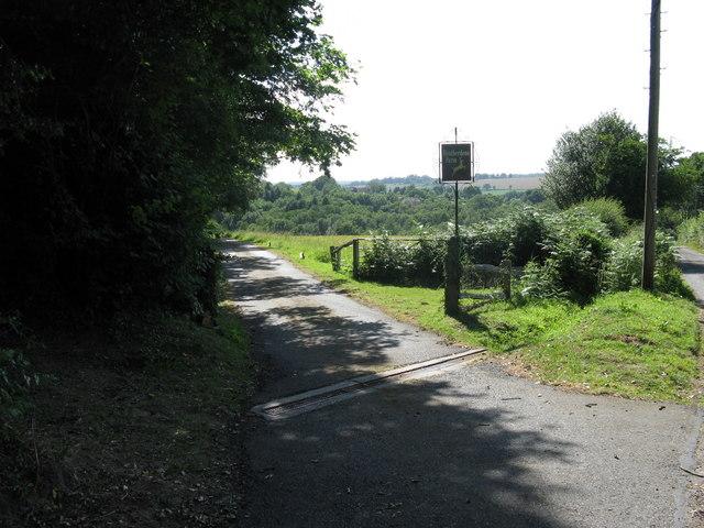 Farm sign for Heatherdene Farm