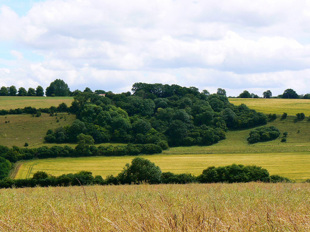 South-west from the bridleway to Preston