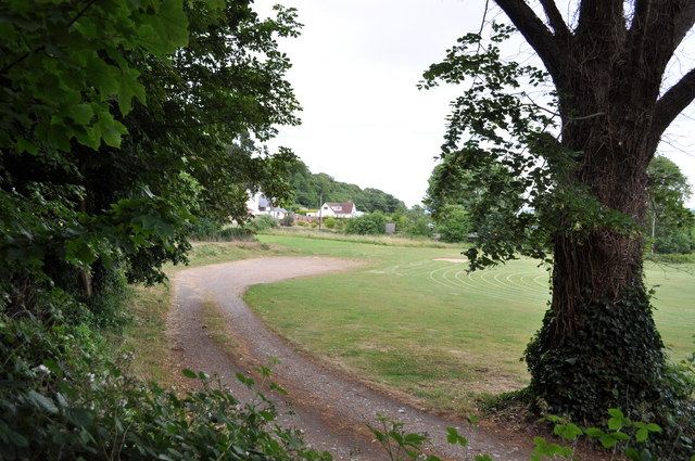 Recreation field in Tutshill