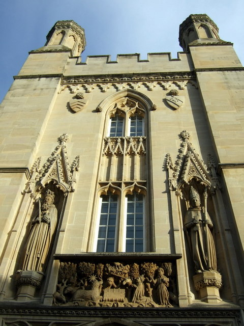Merton College gatehouse