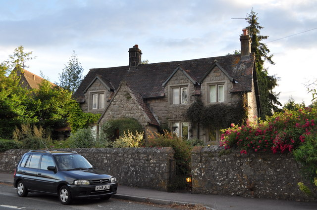 The house where J.K. Rowling lived