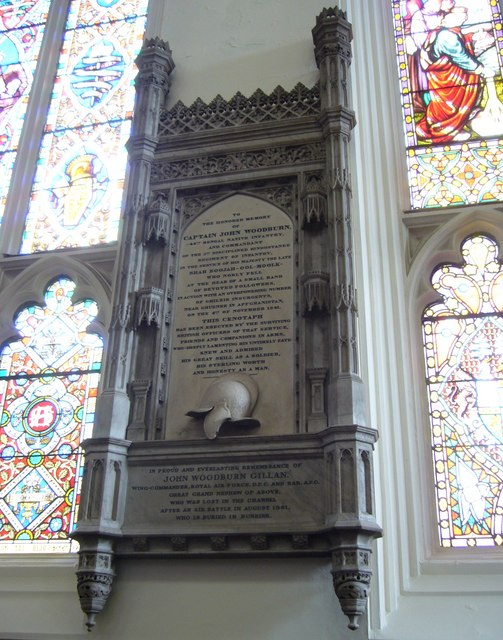 Captain John Woodburn memorial, St John's