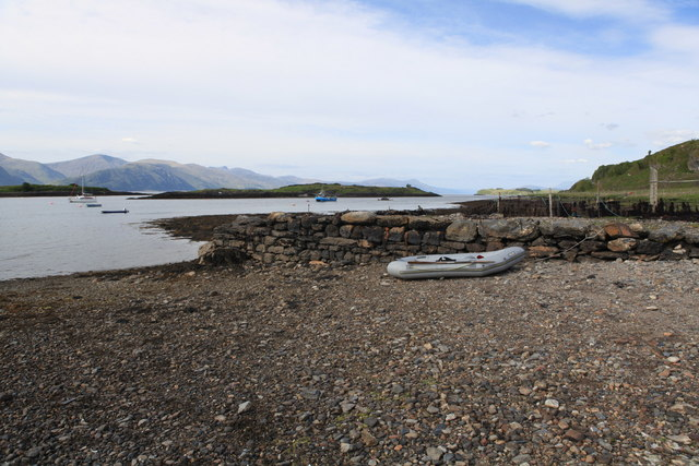 The old Pier, Port Ramsay, Lismore