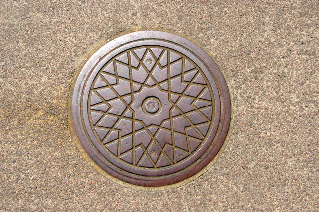 Coal Hole Cover, Wyndham Place, London, NW1