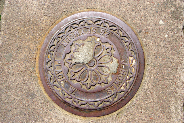 Coal Hole Cover, Wyndham Place, London NW1