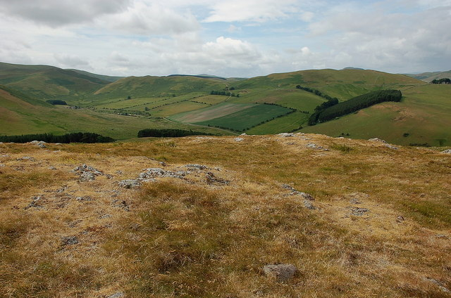 Summit of Green Humbleton