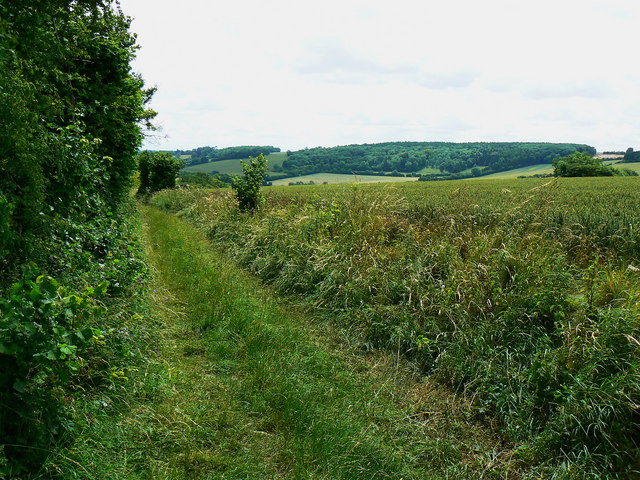 Bridleway past Woodcock Grove, near Preston