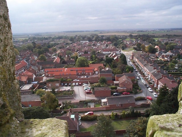 View from St.  Augustine's looking over South Hedon
