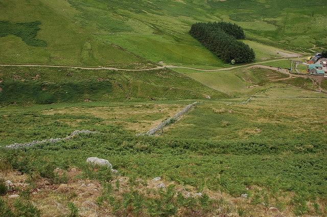 Settlement site above Burnhead